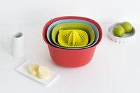 Brabantia 2 bols mélangeurs avec passoire et presse-agrumes-Image 2