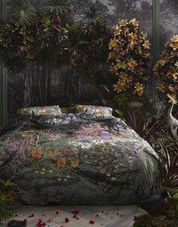 Essenza Dekbedovertrek Igone green katoensatijn 240 x 220 cm-Afbeelding 1