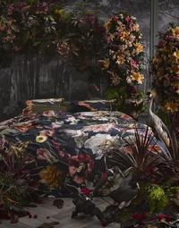 Essenza Housse de couette Filou dark blue satin de coton 240 x 220 cm-commercieel beeld