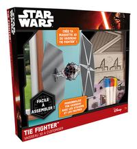 Lansay Star Wars Vaisseau 3D à customiser TIE Fighter-Côté gauche