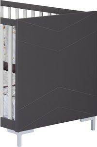 Sauthon Babybed Dark grey 120 x 60 cm-Artikeldetail