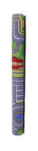 DreamLand verkeerstapijt Play City 95 x 200 cm-Afbeelding 1