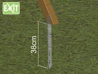 EXIT houten schommel met groene glijbaan-Artikeldetail