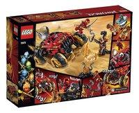LEGO Ninjago 70675 Katana 4x4-Achteraanzicht