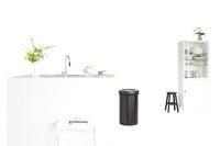 Brabantia poubelle Big Bin 60 l noir mat-Image 1