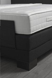 Boxspring électrique Arvika tissu d'ameublement noir 160 x 200 cm-Détail de l'article