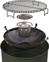 Barbecook Barbecue au charbon de bois Edson army green-Détail de l'article