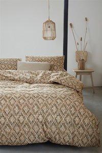 Beddinghouse Dekbedovertrek Willow sand katoen-commercieel beeld