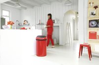 Brabantia afvalemmer Touch Bin 60 l Passion Red-Afbeelding 1