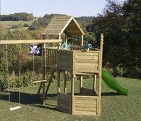 BnB Wood portique Nieuwpoort Pirate avec toboggan vert-Image 1