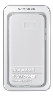 Samsung cover Clear Galaxy A5 2017 transparant