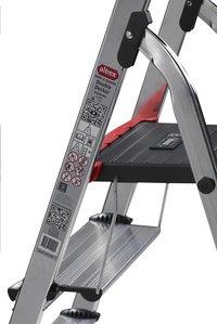 Altrex aluminium trapladder Double Decker met 5 treden-Afbeelding 3