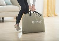 Intex Matelas gonflable pour 2 personnes Queen Dura-Beam Plush gris-Image 2