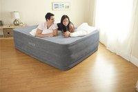 Intex Matelas gonflable pour 2 personnes Queen Dura-Beam Plush gris-Image 3