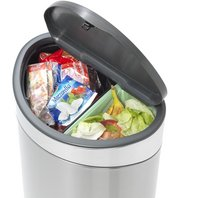 Brabantia Poubelle Touch Bin Recycle matt steel 10/23 l-Détail de l'article