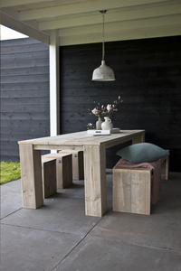 Dutchwood table de jardin brun 220 x 100 cm-Image 1