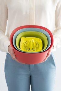 Brabantia 2 bols mélangeurs avec passoire et presse-agrumes-Image 1