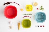 Brabantia 2 bols mélangeurs avec passoire et presse-agrumes-Image 3
