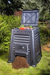 Keter Composteur Mega Composter noir 650 l-Image 1