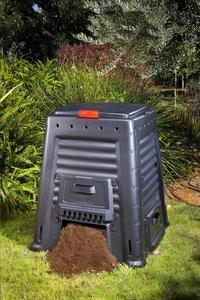 Keter Compostvat Mega Composter zwart 650 l-Afbeelding 2