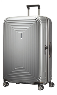 Samsonite Harde reistrolley Neopulse Spinner metallic silver 75 cm