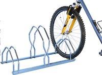 Mottez râtelier à vélos pour 3 vélos haut/bas