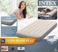 Intex luchtmatras voor 1 persoon Dura-Beam Plus Twin-Vooraanzicht
