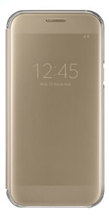 Samsung foliocover ClearView Galaxy A5 2017 goud