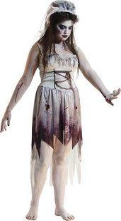 Déguisement de mariée zombie taille 42-Image 1