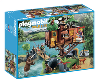 Playmobil Wild Life 5557 Cabane des aventuriers dans les arbres-Avant