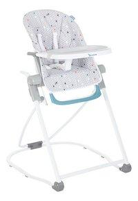 Badabulle Chaise haute gris-Côté gauche