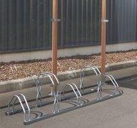 Mottez râtelier à vélos pour 5 vélos haut/bas