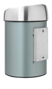 Brabantia Afvalemmer Touch Bin metallic mint 3 l-Achteraanzicht