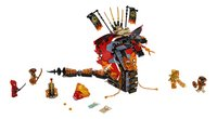 LEGO Ninjago 70674 Vuurtand-Vooraanzicht