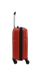 Transworld Set de valises rigides Citytrip Spinner bright red-Côté gauche
