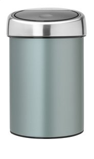 Brabantia Afvalemmer Touch Bin metallic mint 3 l