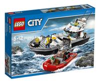 LEGO City 60129 Le bateau de patrouille de la police-Avant