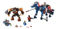 LEGO Nexo Knights 70312 Lance's Mecha Paard + 70325 Infernox neemt koningin gevangen-Vooraanzicht