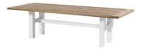 Hartman Table de jardin Yasmani vintage brown/blanc L 300 x Lg 100 cm