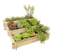 Hillhout carré potager Mini Garden