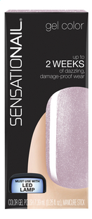 SensatioNail Gel Polish lavish lilac
