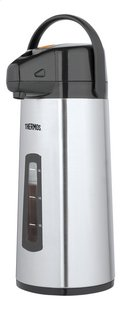 Thermos Isoleerkan met pompsysteem en kijkvenstertje 2,2 l