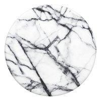 PopSockets Phone grip Dove White Marble-Vue du haut