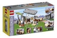LEGO Ideas 21316 The Flintstones-Achteraanzicht
