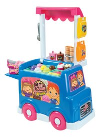Yummy Ice Cream Truck ijscokar-Achteraanzicht
