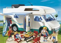 PLAYMOBIL Summer Fun 6671 Famille avec camping-car-Image 1