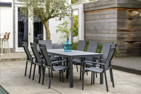 Suns Blue Table de jardin Bonito anthracite L 230 x Lg 90 cm-Image 1