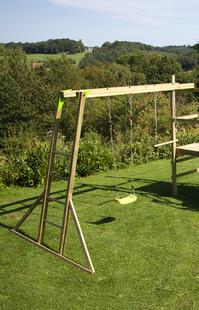 BnB Wood échelle horizontale Monkey Bar pour Madagascar/Nieuwpoort