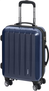 Check.In Harde trolleyset London Special Spinner carbon blue-Artikeldetail
