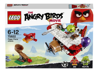 LEGO Angry Birds 75822 L'attaque en avion du cochon-Avant
